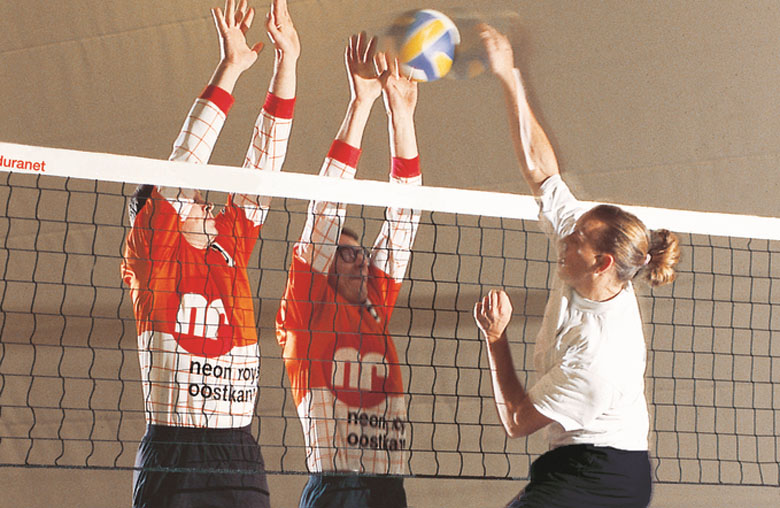 Volleyball training nets