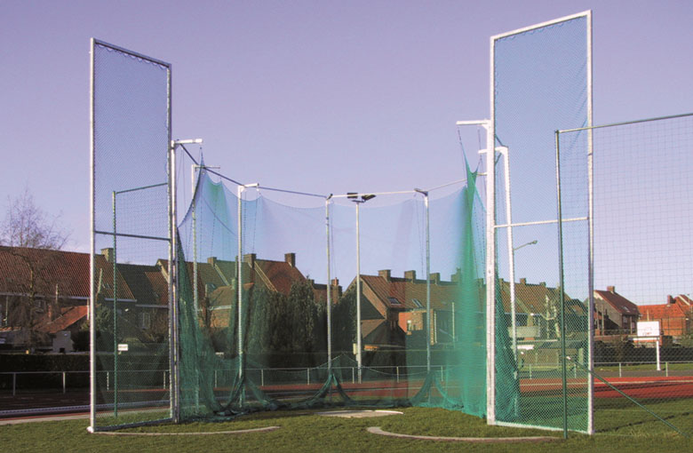 Discus and shot put nets